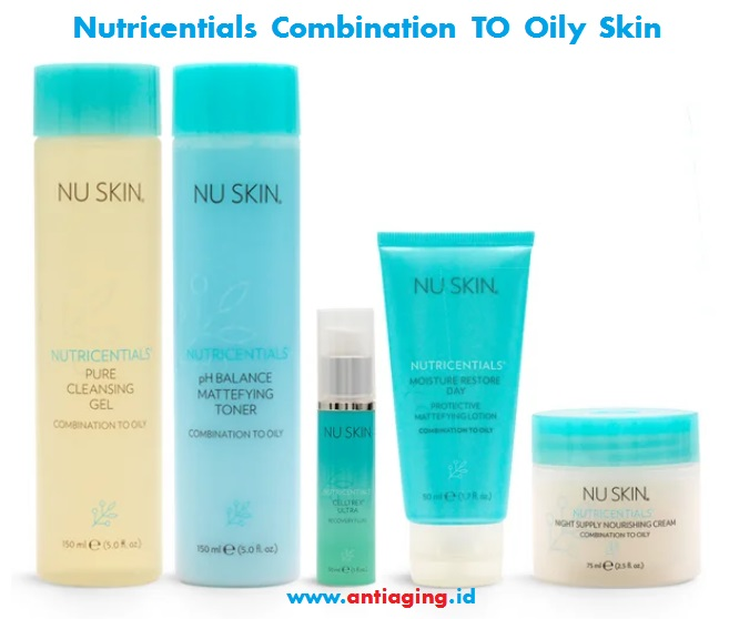 nu skin nutricentials combination to oily skin