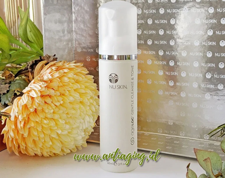 ageloc gentle cleanse and tone