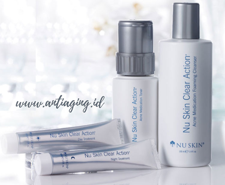clear action system nu skin